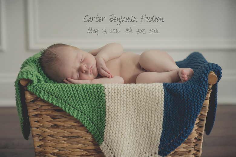 Charlotte lifestyle newborn session