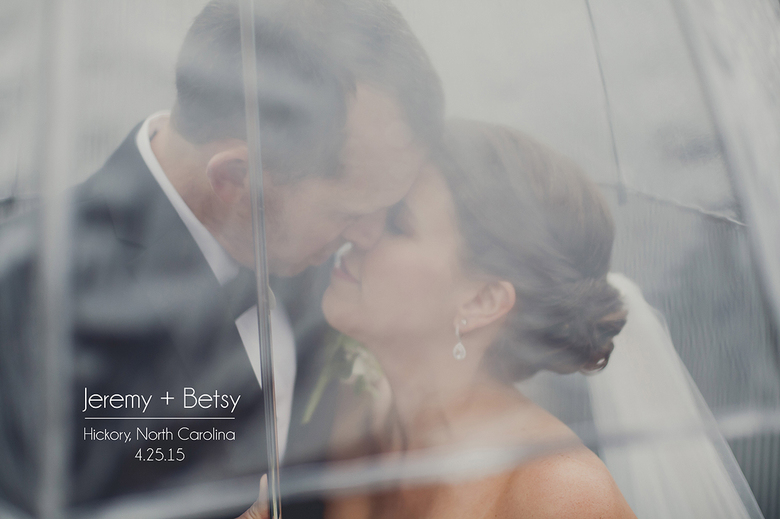 rainy hickory nc wedding at the crossing at holler mill
